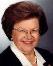 Barbara Mikulski. (Foto: Kongressen)