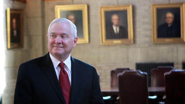 Tidligere forsvarsminister Robert Gates. Foto: Tommy Gilligan, West Point Public Affairs