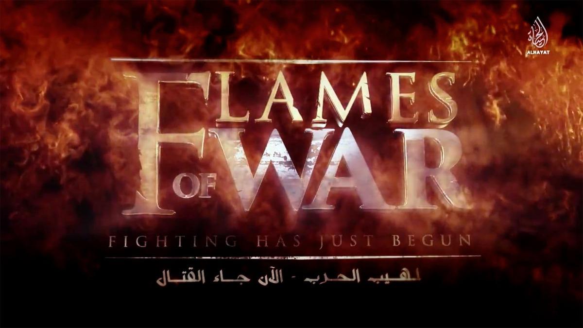Skjermbilde fra en ISIS-propagandavideo.