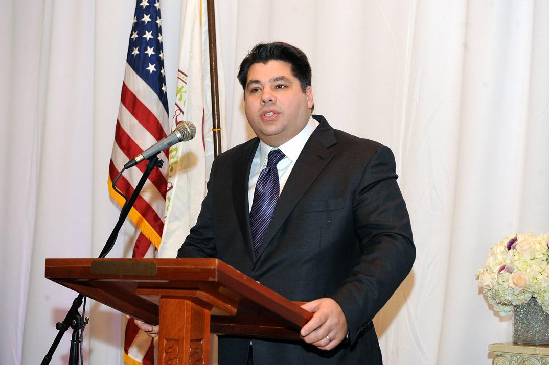 George James Tsunis, mannen som er nominert av president Obama til å bli USAs nye ambassadør i Norge.