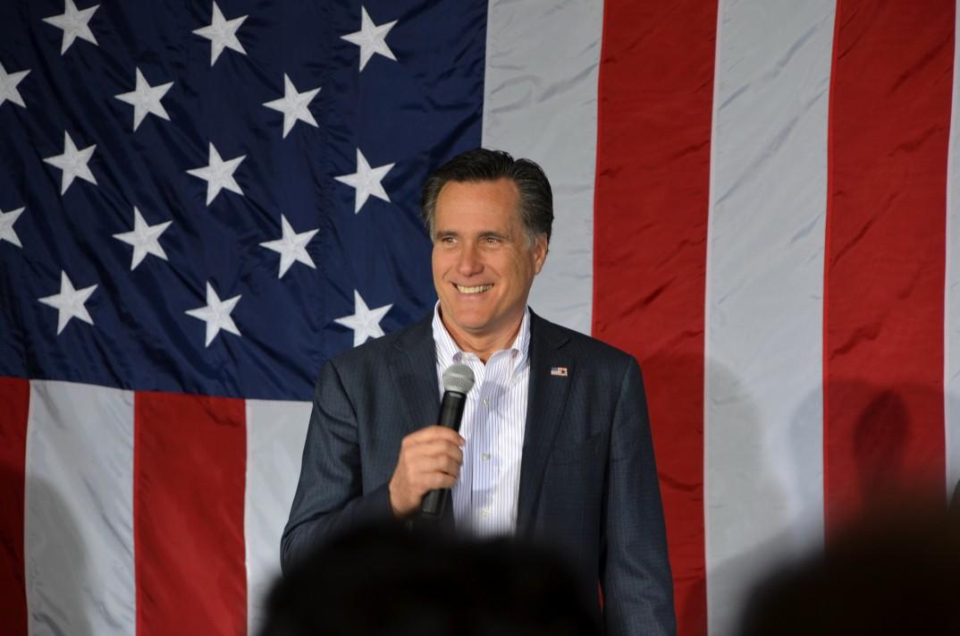 Mitt Romney i Zanesville, Ohio, 5. mars 2012. Foto: Are Tågvold Flaten, AmerikanskPolitikk.no.