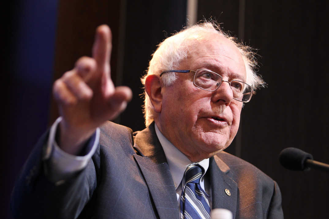 Senator Bernie Sanders (I-Vermont). Foto: Paul Morigi, Brookings Institution.