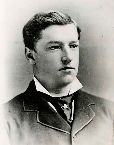 William Howard Taft på Yale College i 1878.